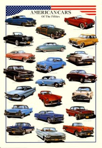 American cars of the 50s